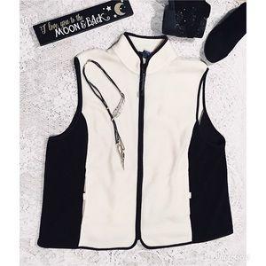 Catalina} Zippered Fleece Plus Size Vest